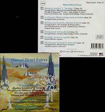 MARCEL HENRI FAIVRE  quatuor à cordes no. 3  ... GROUPE ETUDES , FARKAS , OBADIA