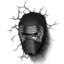 Star Wars Deco LED Luci notturne Parete Lead Villain Lampada Decorazione regalo