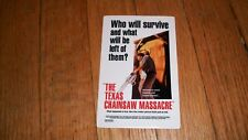 THE TEXAS CHAINSAW MASSACRE STICKER HORROR LEATHERFACE