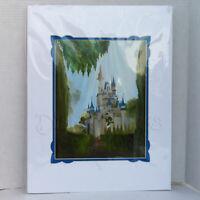 Disney Parks WonderGround Gallery Cinderella's Castle 14x18 in Print Katie Kelly