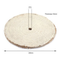 8 Inch 200mm Sisal Buffing Polishing Wheel for Stainless Steel Metal Rotary Tool