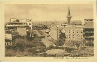 EGYPT  Port Said Square Of Ferdinand de Lesseps  Vintage Postcard   Ai.972