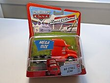 NEW DISNEY PIXAR THE WORLD OF CARS RACEORAMA MEGA SIZE NO STALL SEMI #14 DIECAST