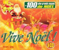 VIVE NOEL ! - LES 100 PLUS GRANDS SUCCES DE NOEL /*/ COFFRET 5 CD NEUF/CELLO