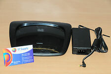 Cisco Linksys WAG120N ADSL2 + Router Annex A - 802.11n, 4x LAN 6MthWty TaxInv