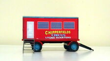CORGI CODE 3 CHIPPERFIELDS CIRCUS LIVING QUARTERS TRAILER VERY NICE MODEL