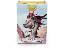 Dragon Shield Standard Size Card Sleeves 100 Count Qoll Art Sleeves AT-12013