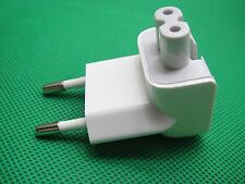 Genuine Travel 2-Pin AC Power Adapter EURO Wall Plug FOR APPLE MacBook Air Pro