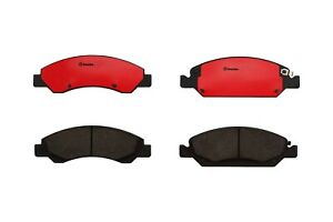 Brembo Front Premium Ceramic Brake Pad Set Slotted For Chevrolet GMC Cadillac