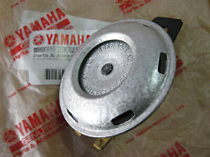 "Yamaha XS250 XS250E XS400 XS400SE 12V. HORN ""Genuine parts"" NIKKO JAPAN NOS."