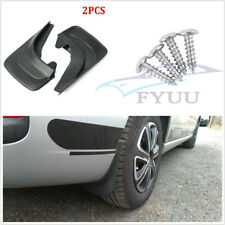2 Pcs ABS Soft Plastic Car Front Rear Mud Flaps Mudflaps Splash Guards Universal