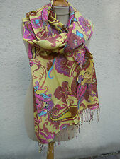 Scarf Stole Women's Scarf Wool Scarf New Mel & Davis Multicolour Print M&D-CO02