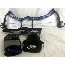"Elite Victory-X-Rh-60#-29"" Draw-Blue-Target Bow-Used"