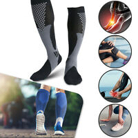 Compression Socks Sleeve Men Women Stockings Graduated Support 20-30mmHg S-XXL