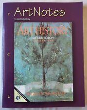 Art Notes to accompany Art History 2nd ed. Vol. 1 by Marilyn Stokstad (PB) 2004