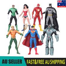 Justice League Batman Superman Wonder DC Super Hero 7 PCS Action Figure Kids Toy