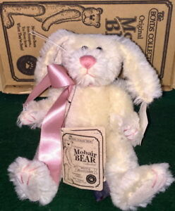 BOYDS The Mohair Bear Collection 1998 Dolly Q. Bunnycombe Rabbit MIB #590150-01