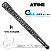 Avon Tacki-Mac Tour Select Midsize Full Cord Grips - Black / White x 1