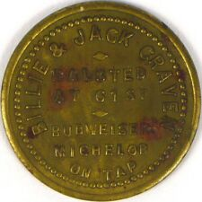 Unlisted CHICAGO Billie & Jack Craven BUDWEISER MICHELOB BEER Good For Token