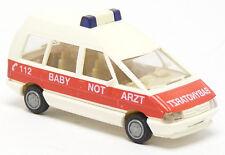 Busch 45520 - Renault Espace RTW KTW Baby Notarzt Lübeck Feuerwehr - 1:87 H0