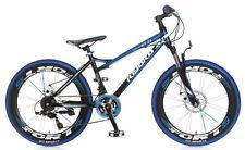 POPAL 2455 Kiyoko Mountainbike 24 Jungen Fahrrad 24 Zoll 18-Gang Blau NEU
