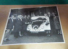 195 Burnley Express photograph VW Beetle Competition car 16cm x11.5 Art