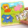 Bébé Enfant Enfant en bois coloré créatif .Educational drôle Puzzle brique WXXX