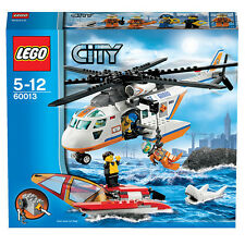 Lego City Town 60013 COAST GUARD HELICOPTER Trimaran Sea Rescue Xmas Present NEW