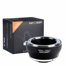 K&F Concept Adapter Ring for Nikon AI F Mount Lens to Nikon 1 Mount J1 V1 Camera
