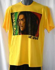 T-SHIRT _ GIALLO _ Rastafari _ ONE LOVE _ rasta, reggae