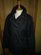 G81 GUESS DENIM JACKET, SIZE X LARGE, UNWORN, DOUBLE FRONTED, COTTON, LINED
