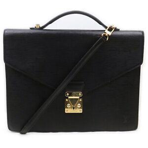 Louis Vuitton Business Bag Serviette Conseiller Black Monogram 1902670