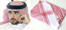 New Large Arab Scarf,Shemagh Keffiyeh Islamic Headscarf Red Turban Imama men Had
