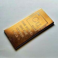 1 X 1 oz Copper Bar $500 William McKinley Banknote New