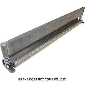"""50"""" Press Brake DIY Builder Kit Builder Kit With Adjustable Back Stop."""