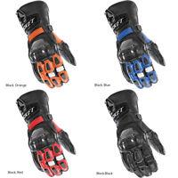 2018 Joe Rocket GPX Leather Motorcycle Race Gloves Carbon Fiber -Pick Size/Color
