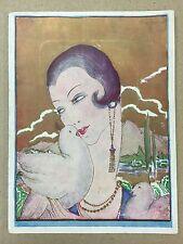 Programme THEATRE DE LA PORTE SAINT-MARTIN Le Domino Noir VILLABELLA 1934