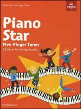 Piano Star Five-Finger Tunes 25 Pieces for Young Pianists Sheet Music Book
