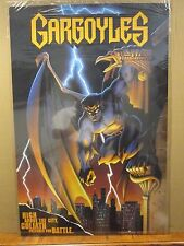 vintage Gargoyles Tv series poster Goliath 12017