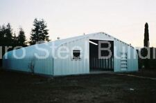 Durospan Steel 30x55x14 Metal Garage Workshop Diy Building Kit Factory Direct