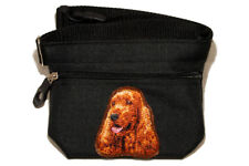 Embroidered Dog treat pouch/bag - for dog shows. Breed - English Cocker Spaniel