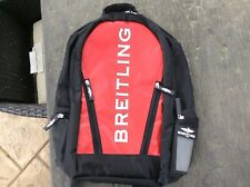 BREITLING Bag BACKPACK BLACK, RED X WHITE