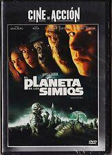 Tim Burton: EL PLANETA DE LOS SIMIOS. Tarifa plana DVD (España) en envío, 5 €