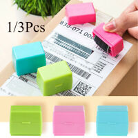 Roller Stamp Guard Your ID Personal Data Protection Self Inking Messy Code Stamp