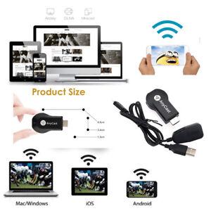 AnyCast M2/4/9 MX18 M100 Plus WiFi Display Receiver 1080P Miracast/Airplay/DLNA