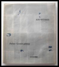 PETER GREENAWAY - ARTWORKS - EDIZIONI LINDAU 2000 /CATALOGO MOSTRA PARMA,RARO!!
