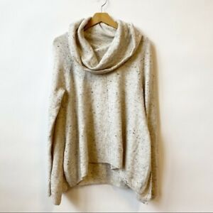 Jessica Simpson Oatmeal Alpaca Blend Knit Sweater Pullover  Women's Size Large