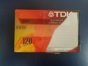 TDK MP120 Hi-8 Video Tape New, Sealed 120 Minutes , Discontinued