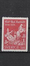 "Sweden:1964 Sc#641 Mnh ""The Assumption of Elijah.� by Erik Axel Karlfeldt., poet"