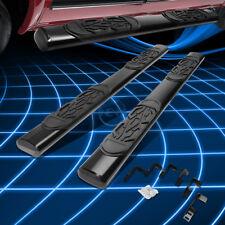 "Black Oval 6""Side Step Nerf Bar/Rail for 2009-2014 Dodge Ram 1500-3500 Crew Cab"